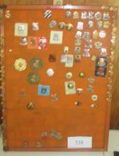 100 Signal Unit Pins 16 Polizei Patches NASA items