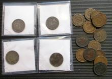 Lot of Assorted Flying Eagle and Indian Head Cents