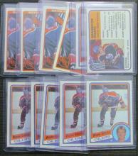 (11) 1981/82 to 1984/85 Topps Wayne Gretzky Cards