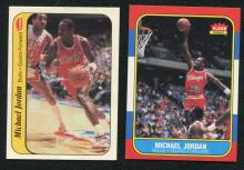 1986/87 Fleer Basketball Complete Set w/ Stickers