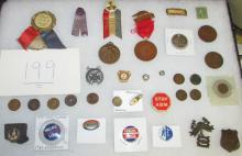 35 Piece Collectibles Lot Circa 1900-1950