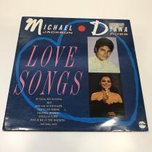 Michael Jackson & Diana Ross Signed LP