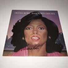 Diana Ross Signed LP