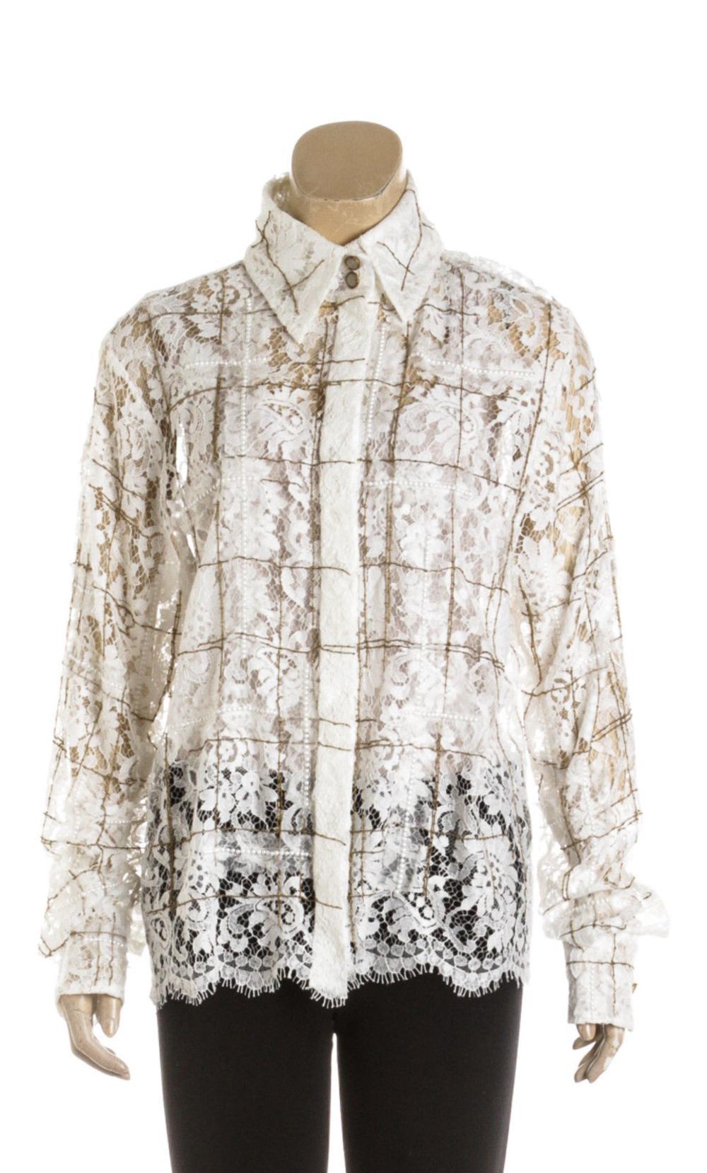 c00a73a868c0 Chanel Blouse (Size 40)