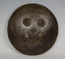 Indo-Persian Steel Dhal Shield