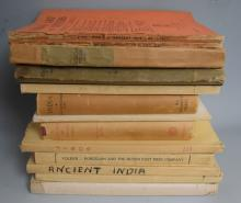 Lot of Thirteen Books and Journals on India Art