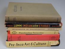 Lot of six books on Art and History