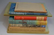 Lot of Nine Book on Middle Eastern History and Travel