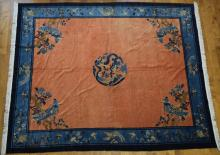 19th Century Chinese Beijing Carpet Rug