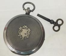 19th C Silver Pocket Watch for Chinese Market
