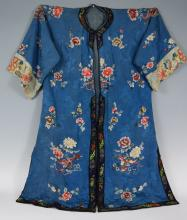 Late 19th , early 20th Century Chinese Silk Robe