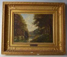 D. Francatti. Oil on Canvas