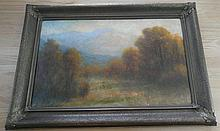 1922 oil on canvas by well listed Colorado artist David Stirling