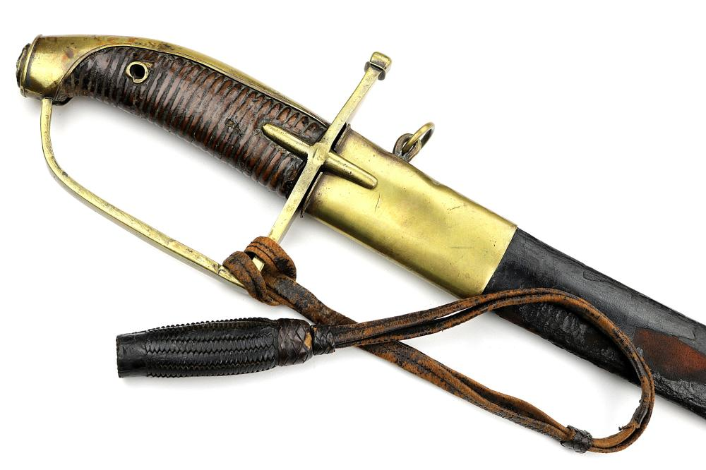 Rare Large 18th C. Hungarian or French Hussar Officer's Sword