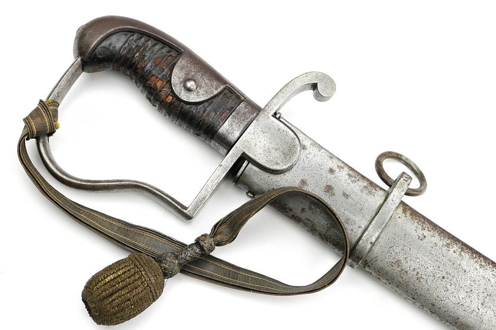 Model 1796 German Cavalry Sword Regimental Marked Hilt & Scabbard, Well Marked Blade