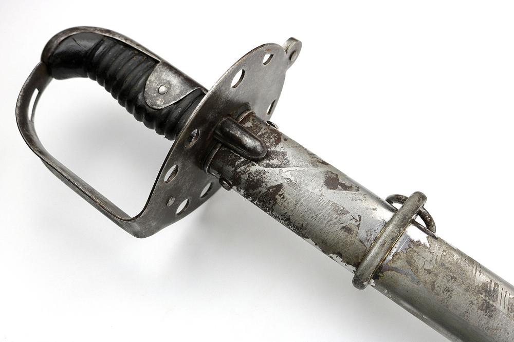 "Model 1796 English Cavalry Trooper's Sword with German Blade by ""J.J. Runkel"""