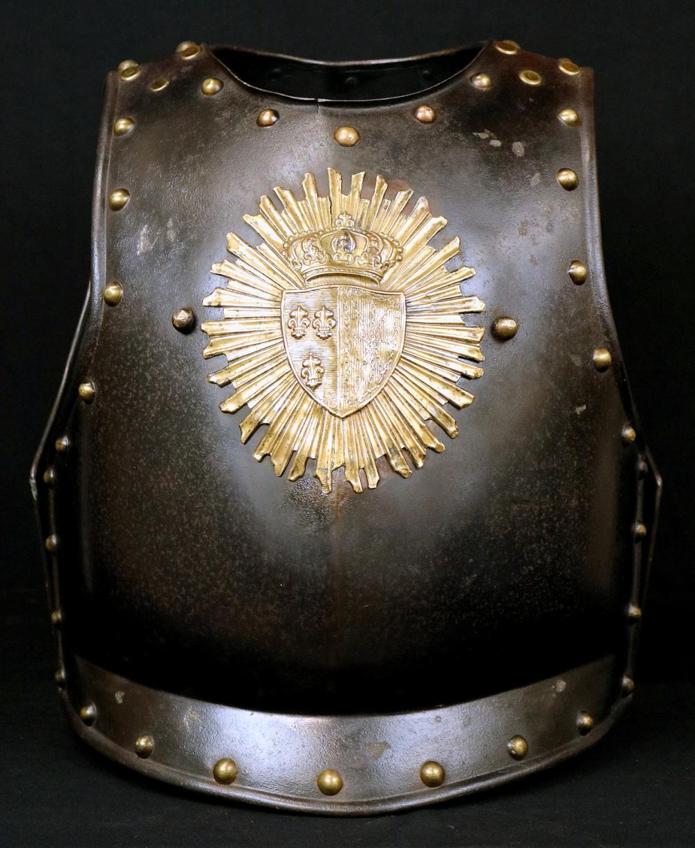 An Attractive French Napoleonic Era Officer's Cuirass Armor