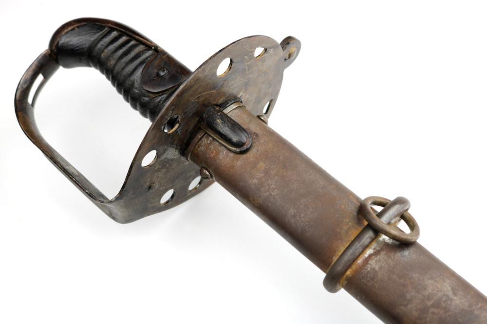 "Rare 1796 Model English British Cavalry Trooper's Sword with German Blade by ""J.J. Runkel"""