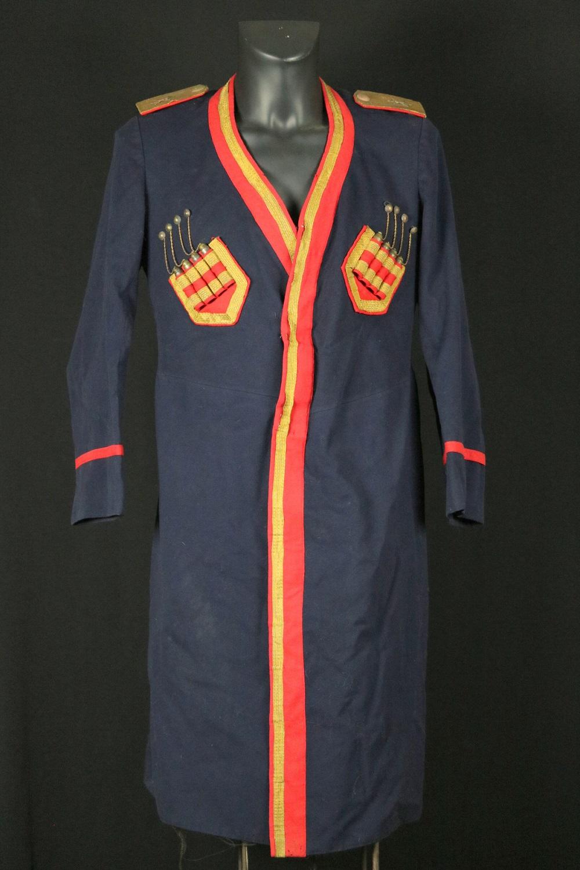 Rare Russian Imperial 19th C. Caucasian Military CHOKHA (Cherkeska) Cossack Officer's (Soldier) Dress Uniform