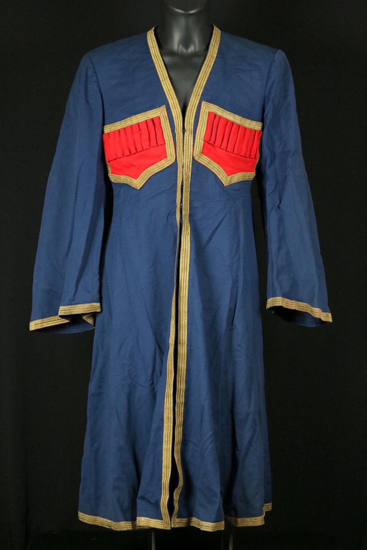 Russian Imperial Caucasian Military Ornate CHOKHA (Cherkeska) Cossack Soldier's or Officer's Dress Uniform.