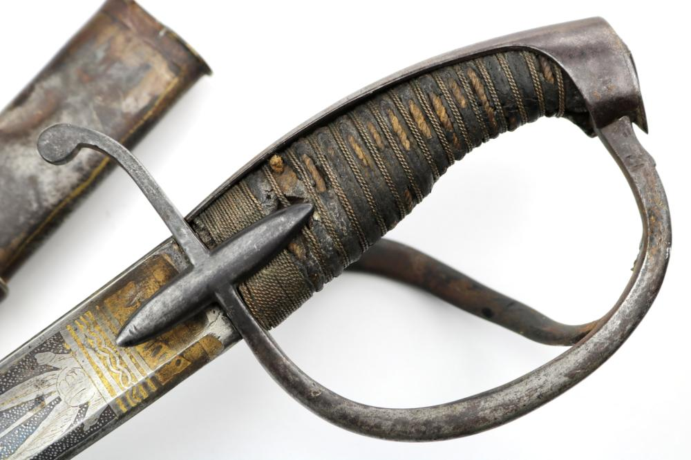 Rare Napoleonic Wars era Russian Imperial Cavalry Officer's Sword, Czar Alexander I era.