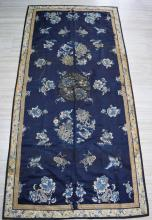 Antique Chinese Qing Dynasty Embroidery Panel