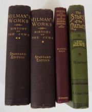 Lot of 4  books on Jews History