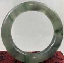 Chinese Natural Jadeite Bangle Bracelet