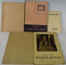 Five Reference Books on Indian Art and Culture