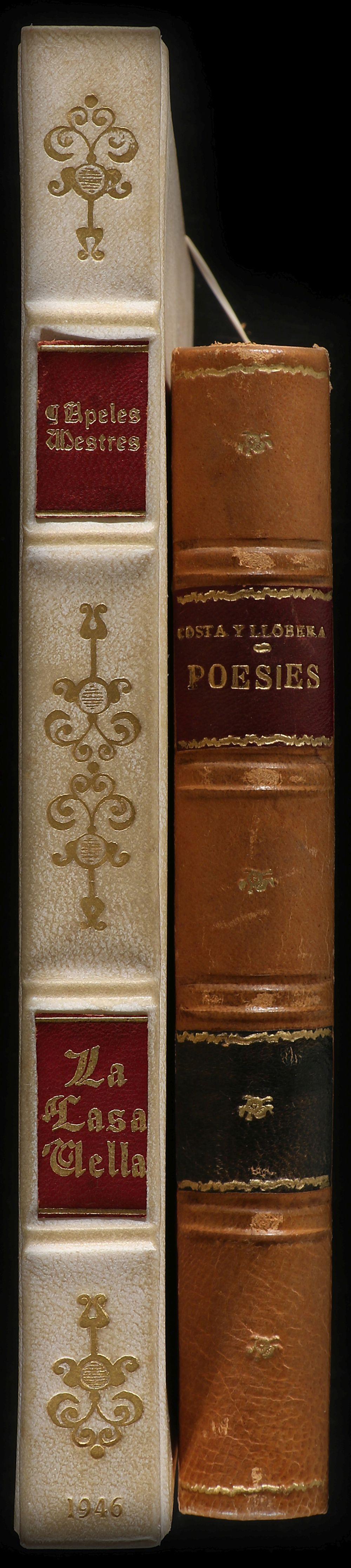 1907. LIBRO: (LITERATURA CATALANA). COSTA Y LLOBERA, MIQUEL: POESÍES. Barcelona: Gustau Gili, Editor