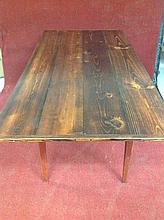 Primitive Country Plank Table
