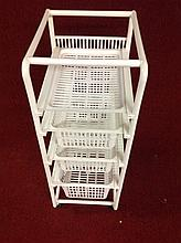 4 shelf closet organizer