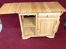 Pine Kitchen Island Cabinet