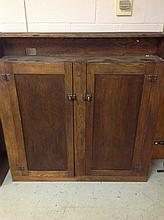 Old primitve pine cabinet