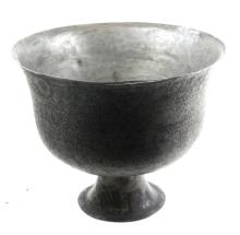 Antique Islamic Metal Footed Bowl