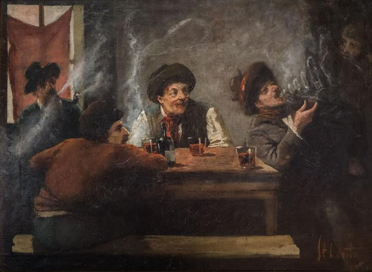 Scene in the tavern