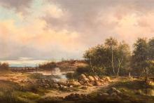 A landscape, 1890