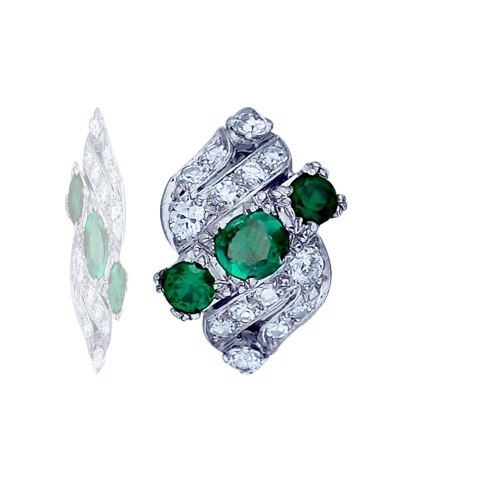 Lot 9129: Edwardian, Platinum 3-Stone, Ring