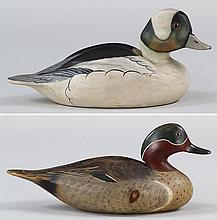 Group of (2) Wildfowler decorative decoys
