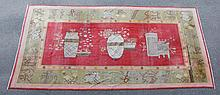 Chinese rug.