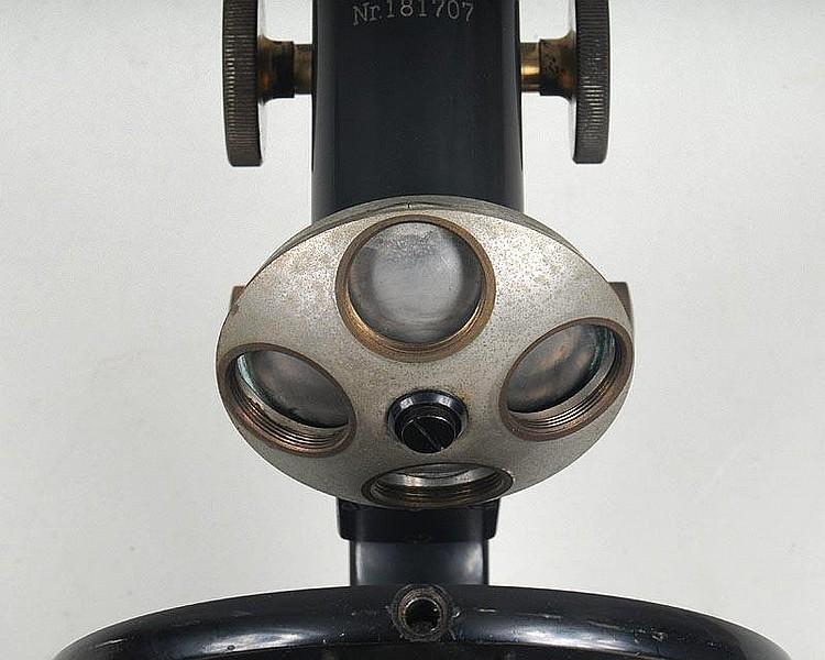 Carl zeiss jena microscope