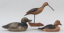 Group of three decoys