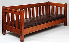 Stickley Brothers even-arm settle