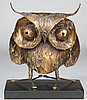 CURTIS JERE (American, 1910-2008), owl, Curtis Jere, $150