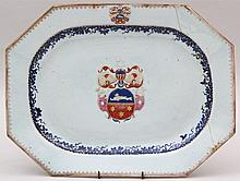 18th century Chinese Export armorial platter