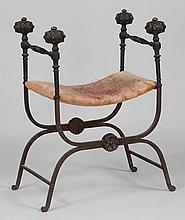 Italian Renaissance style Savonarola chair