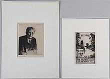 Group of (2) Frank W. Benson (American, 1861-1951)
