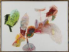 JOHN ALTOON (American, 1930-1969), abstract, mixed