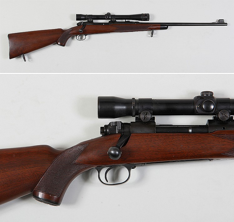 Winchester pre-64 Model 70 Super Grade 22 Hornet r