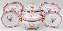 Six piece porcelain dish set
